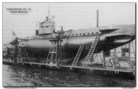 PODVODNIK NO. 18 - Bulgarian submarine, ex German uboat UB8